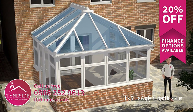 Tyneside Home Improvements Conservatory TV Advert
