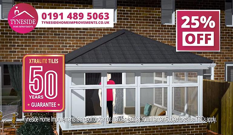 Tyneside Home Improvements Conservatory TV Advert